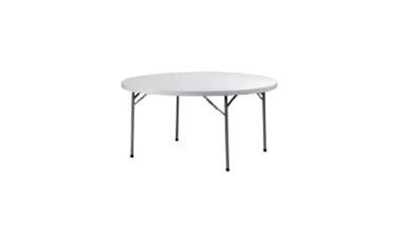 שולחן עגול בינוני