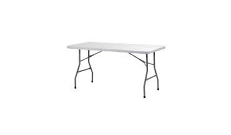 שולחן מלבני בינוני צר