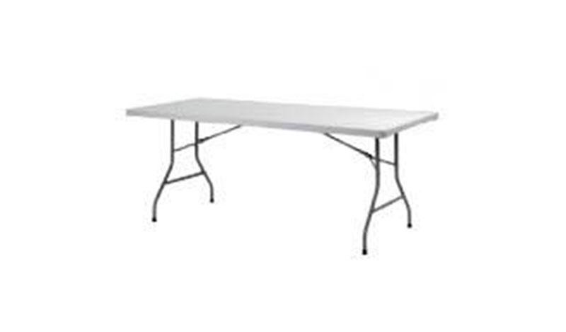 שולחן מלבני גדול רחב