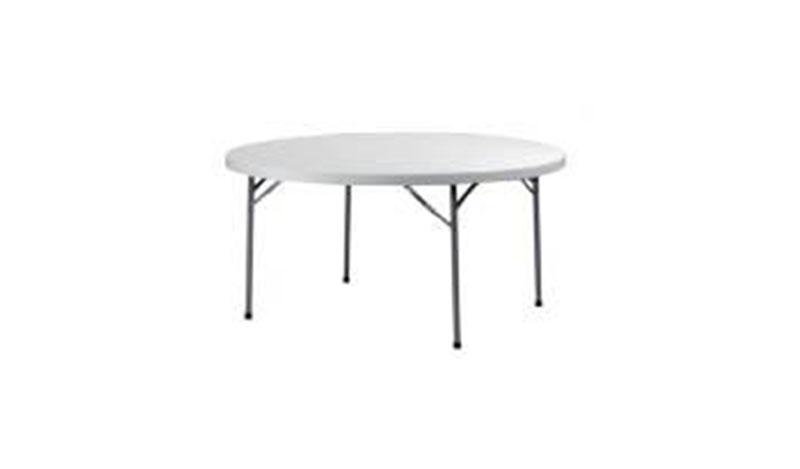 שולחן עגול גדול