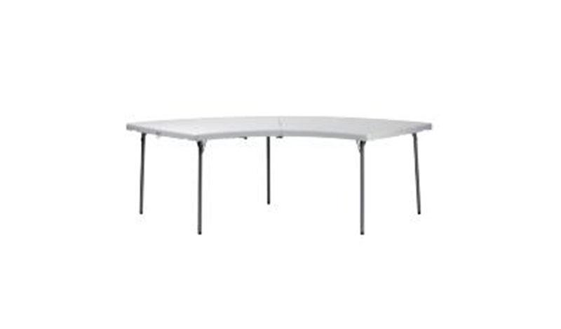 שולחן מעוגל גדול