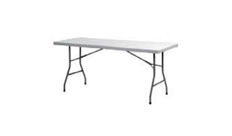 שולחן מלבני גדול צר